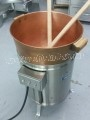 Dunbar Electric Candy Stove with Copper Kettle carmel caramel corn