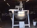LEE 200 GALLON JACKETED KETTLE DOUBLE AGITATOR ALL STAINLESS